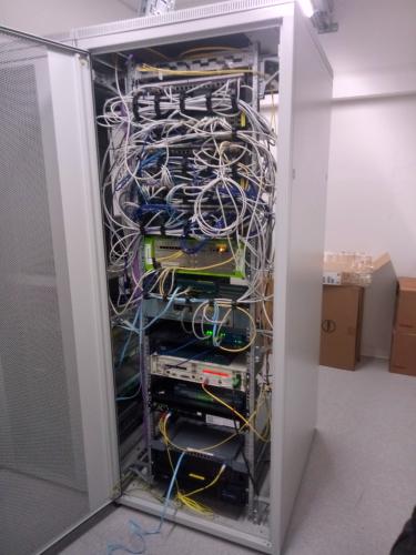 Glasfaser Gateway Netzwerk
